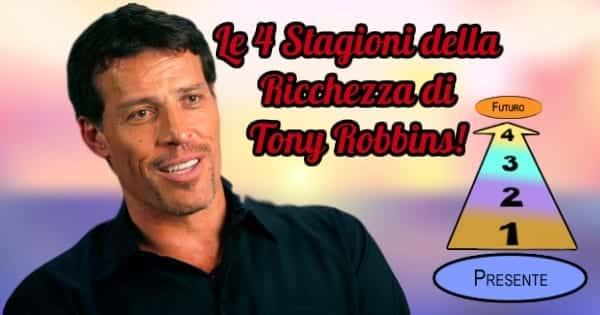 Anthony Robbins 4 stagioni ricchezza