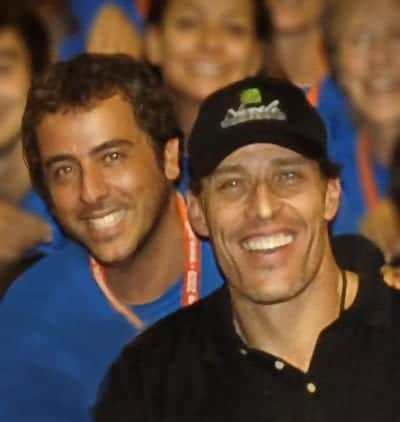 Jose Scafarelli Tony Robbins Together