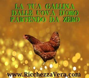 Commenti alla IV Conferenza di Ricchezza Vera – La Tua Gallina dalle Uova d'Oro partendo da zero: