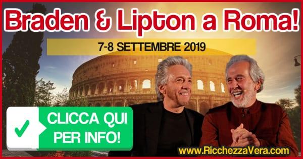 Gregg Braden Bruce Lipton in Italia Roma