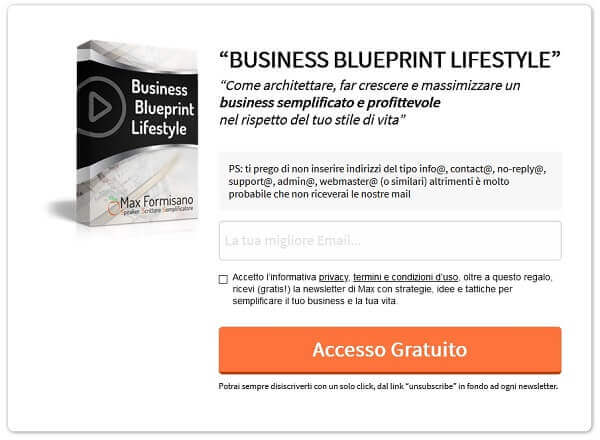 Business Blueprint Lifestyle Elite Club Max Formisano