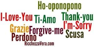 Ho-oponopono poster: 8 omaggi per te!