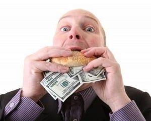 senza denaro avidita