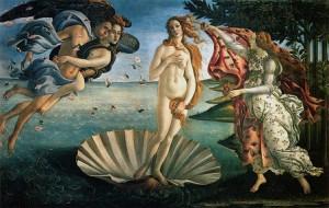 venere botticelli Cornucopia, significato