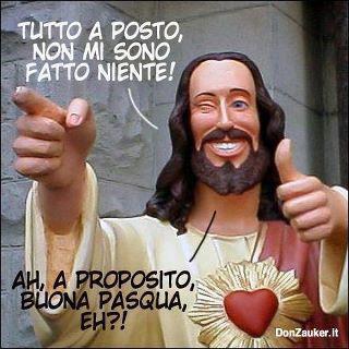 Gesù Tanti Auguri di Buona Pasqua