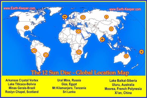 I dodici snodi principali della rete energetica mondiale
