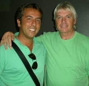 David Icke e Josè Scafarelli