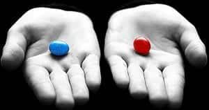 libero arbitrio pillola blu rossa