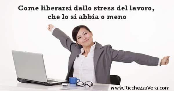 Ero Solo un Ragioniere Stress del lavoro