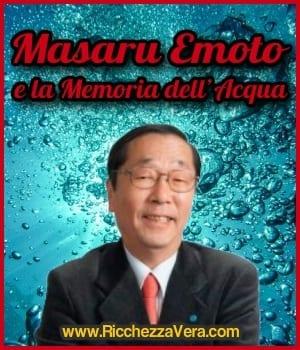 Masaru Emoto e la Memoria dell'Acqua
