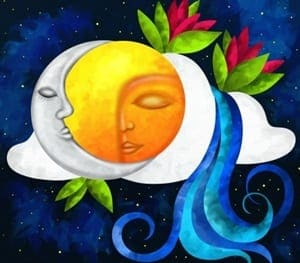 Sole Luna Risveglio Spirituale