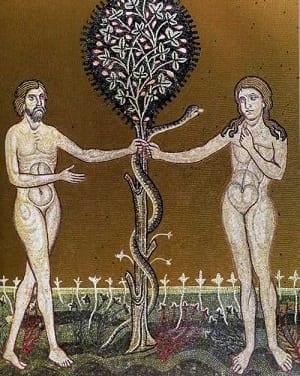 Albero bene male-adamo-Eva