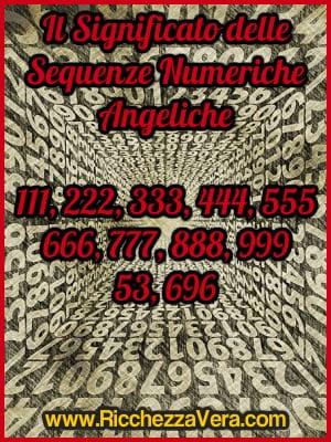 Significato Numeri Angelici tripli 111, 222, 333, 444, 555, 666, 777, 888, 999 – Sequenze Numeriche, Angeli e Numeri (Doreen Virtue)