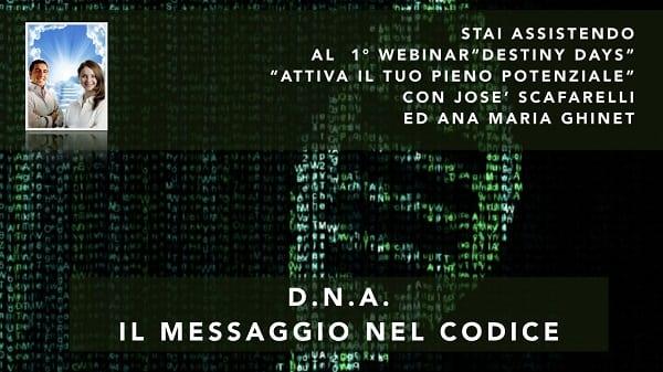 DNA 2 – Il Messaggio nel Codice
