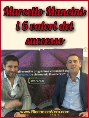 Marcello Mancini valori successo