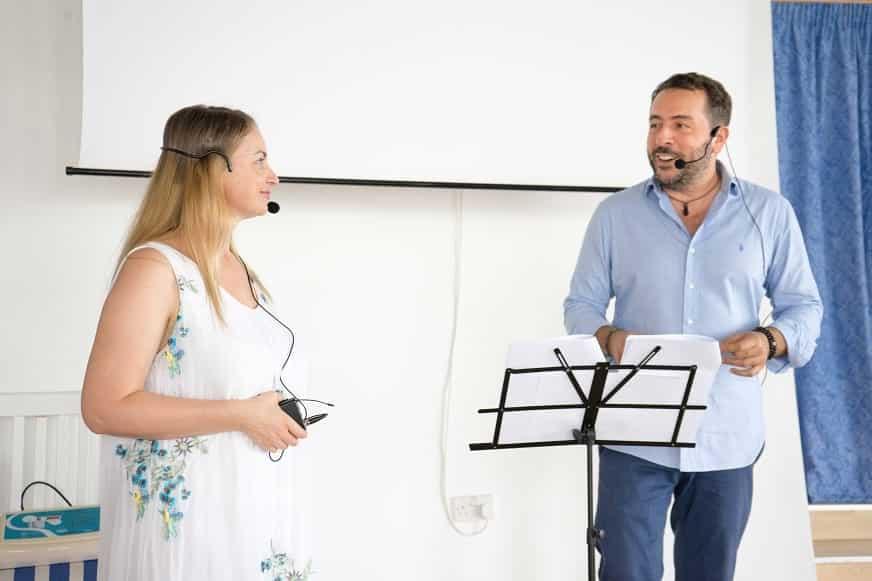 Jose Scafarelli e Ana Maria Ghinet